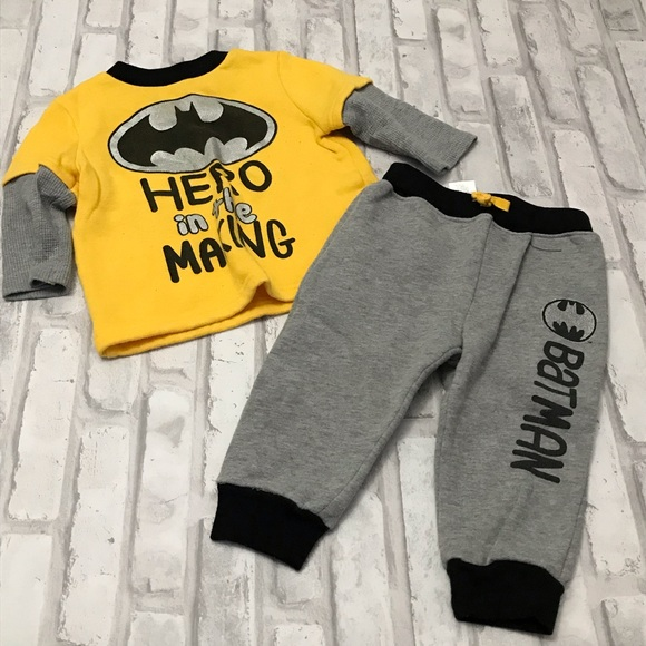 Batman Other - Baby Boy Outfit